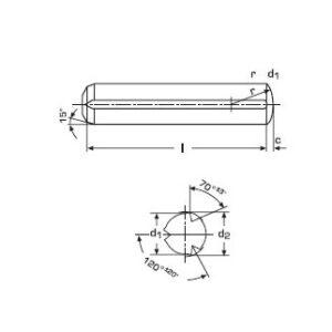 DIN 1473 / ISO 8740