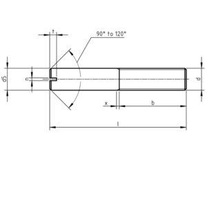 DIN 427/ ISO 2342