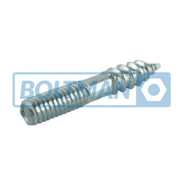 Niesamowite Wkręty dwugwintowe, nierdzewne – Boltman – Śruby wg DIN ISO PN 8.8 ED03